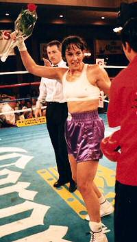Women's Boxing: Trina Ortegon Biography