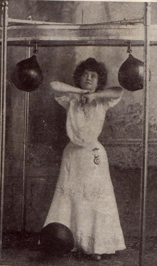 Women Boxing: Then and Now