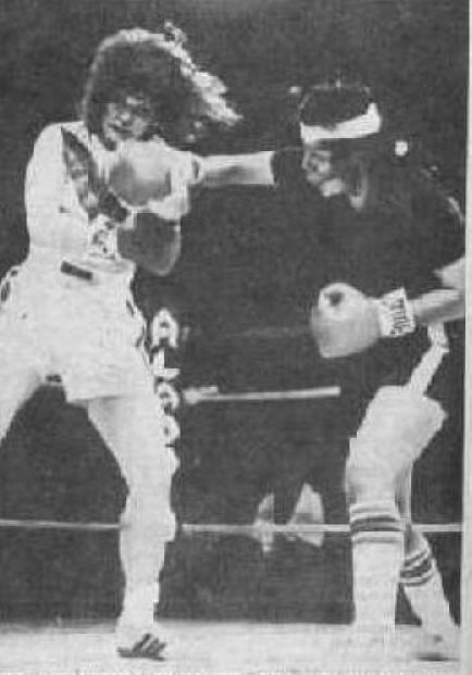 Womens Boxing - Theresa Kibby - one of the top 70s - 80